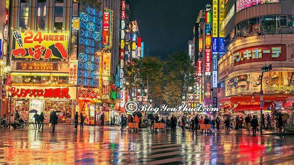 Các quán ăn ngon rẻ tại Tokyo