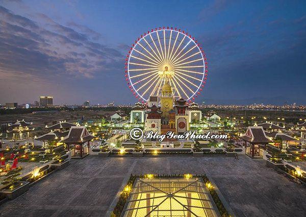 Đi đâu chơi khi đến Đà Nẵng du lịch? khu vui chơi nổi tiếng ở Đà Nẵng