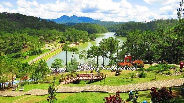Các điểm du lịch nổi tiếng Đà Lạt: Địa điểm du lịch lãng mạn, tuyệt đẹp ở Đà Lạt