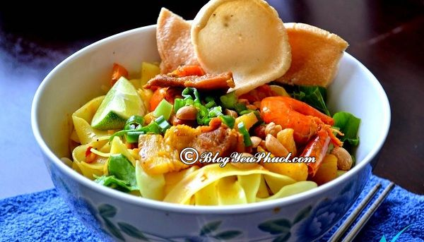 Địa chỉ ăn mì Quảng ngon ở Đà Nẵng