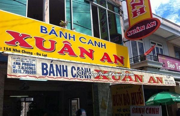 Những quán ăn ngon khi du lịch Đà Lạt: Địa chỉ ăn uống giá rẻ, nổi tiếng ở Đà Lạt