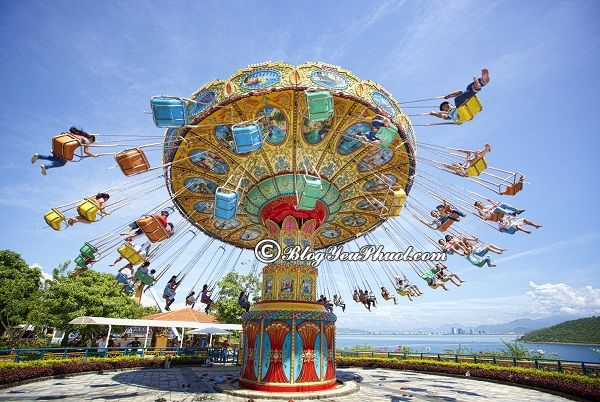 Du lịch Nha Trang nên đi đâu chơi? Khu vui chơi cảm giác mạnh ở Nha Trang