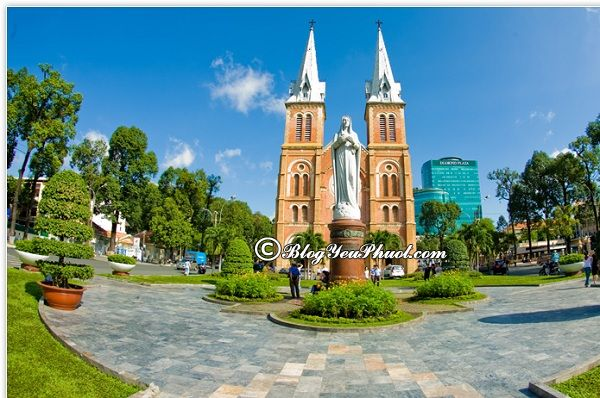 Địa điểm ngắm cảnh, chụp ảnh đẹp ở Sài Gòn: Nơi tham quan du lịch nổi tiếng ở Sài Gòn