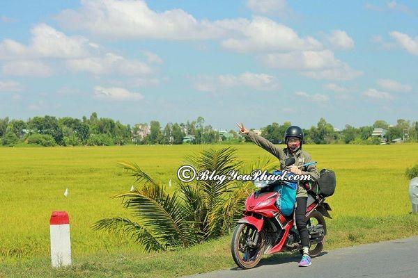 Địa điểm thuê xe máy ở An Giang