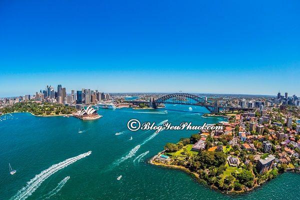 Hướng dẫn làm thủ tục xin visa đi Úc