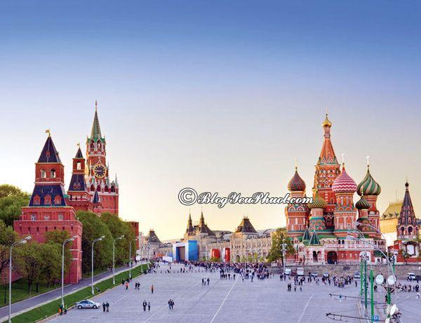 Hướng dẫn xin visa đi du lịch Nga: Thủ tuc, hồ sơ làm visa đi du lịch Nga chi tiết, thuận lợi, nhanh nhất