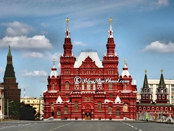 Hướng dẫn xin visa đi du lịch Nga