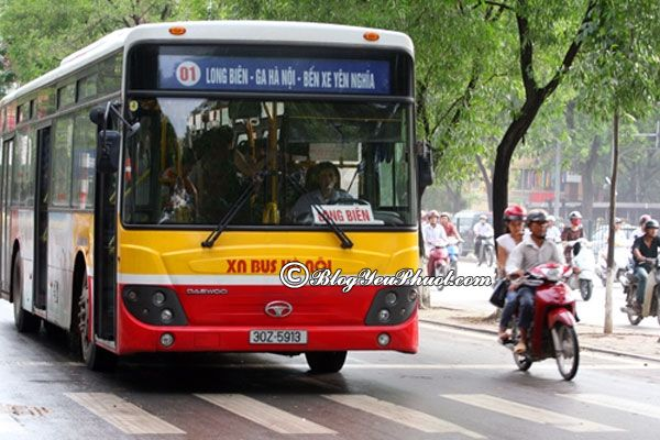 Kinh nghiệm đi lại ở Hà Nội: Nên đi du lịch Hà Nội bằng phương tiện gì?