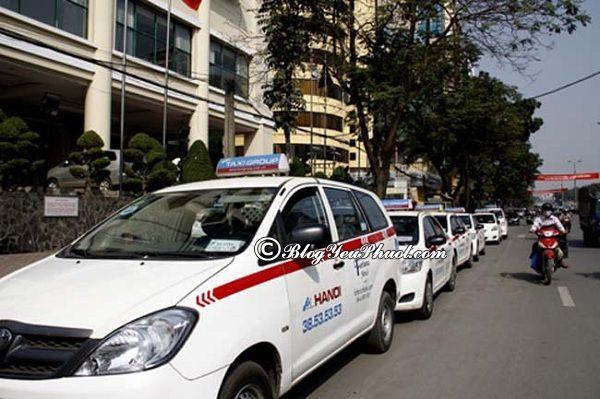 Các hãng taxi tại Hà Nội: Nên đi du lịch Hà Nội bằng phương tiện gì và kinh nghiệm đi lại ở Hà Nội