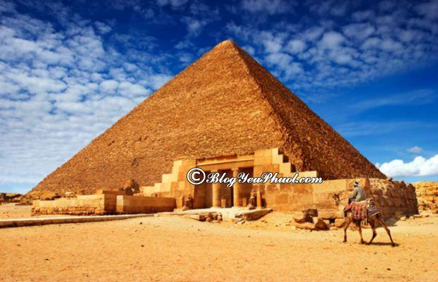 Kinh nghiệm du lịch Ai Cập mới nhất: Hướng dẫn đi du lịch Ai Cập an toàn, giá rẻ