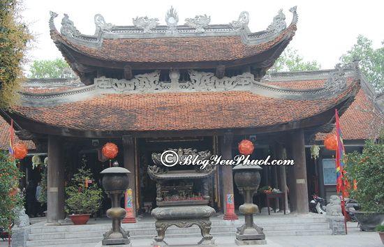 Nên đi đâu khi du lịch Bắc Ninh?- Đền Đô linh thiên, tư vấn lịch trình tham quan, vui chơi, ăn uống ở Bắc Ninh chi tiết