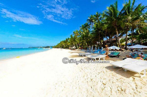 Kinh nghiệm du lịch đảo Boracay