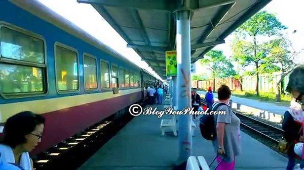 Đi bằng tàu hoả đến Chiangmai - Hướng dẫn du lịch chiang mai