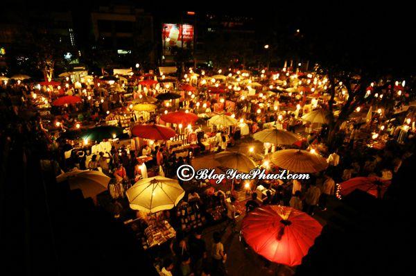 Kinh nghiệm du lịch Chiang Mai - mua sắm ở đâu Chiang Mai