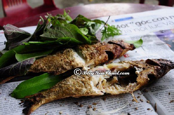 Kinh nghiệm ăn uống khi đi du lịch Hòa Bình: Khám phá ẩm thực Hòa Bình với món Cá nướng sông Đà