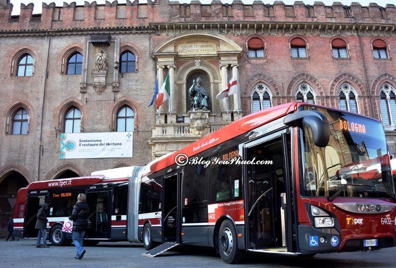 Du lịch Italia bằng xe bus rất phổ biến: Kinh nghiệm đi du lịch Ý thuận lợi, chi tiết
