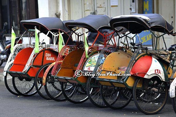 Kinh nghiệm du lịch Jakarta- Phương tiện di chuyển