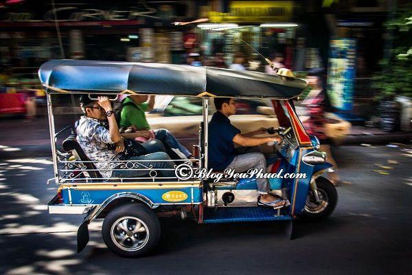Phương tiện di chuyển khi đến Lào
