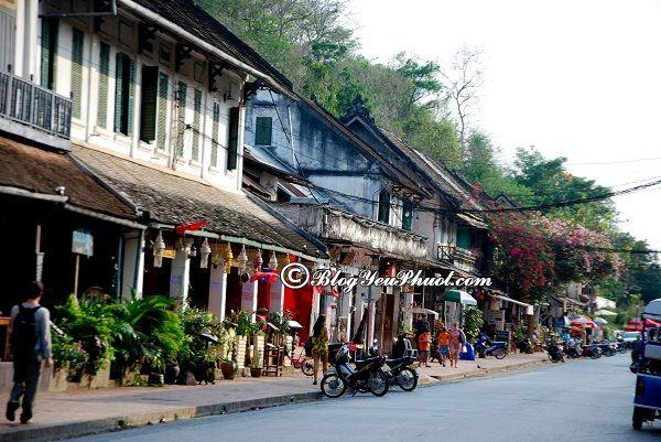 Các địa danh nổi tiếng tại Luang Prabang