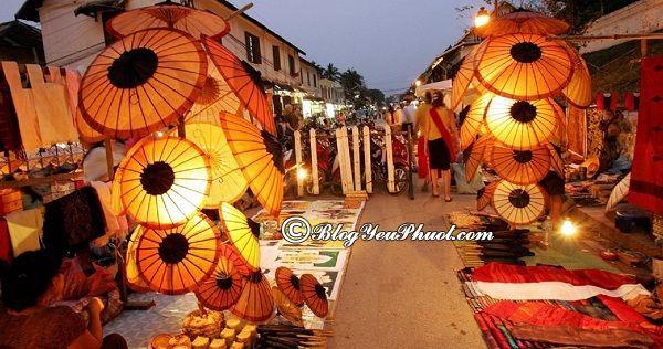 Chơi ở đâu khi du lịch Luang Prabang?