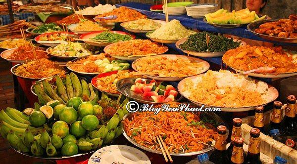 Ăn gì khi du lịch Luang Prabang?