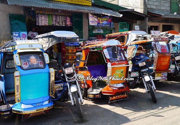 Kinh nghiệm du lịch Manila- phương tiện di chuyển