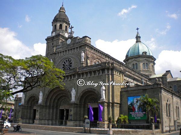 Kinh nghiệm du lịch Manila- các địa danh thăm quan nổi tiếng