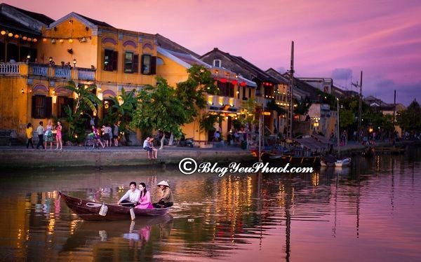 Kinh nghiệm du lịch Quảng Nam- các địa danh nổi tiếng