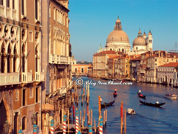 Kinh nghiệm du lịch Venice