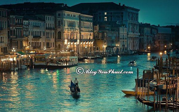 Kinh nghiệm du lịch Venice -Thời điểm đẹp nhất đi du lịch Venice