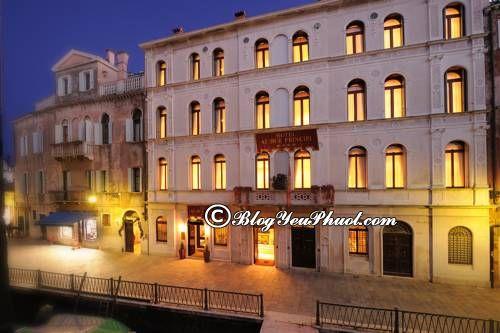 Ở đâu khi du lịch Venice? Khách sạn cao cấp, bình dân, giá rẻ ở Venice đẹp, tiện nghi
