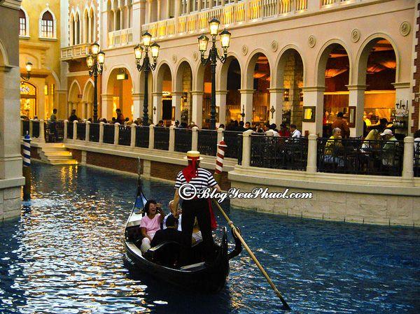 Du lịch Venice khám phá thành phố trên sông: Tư vấn lịch trình tham quan, vui chơi khi đi du lịch Venice