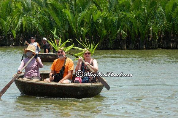 Chơi gì ở rừng dừa nước Cẩm Thanh- Hội An?