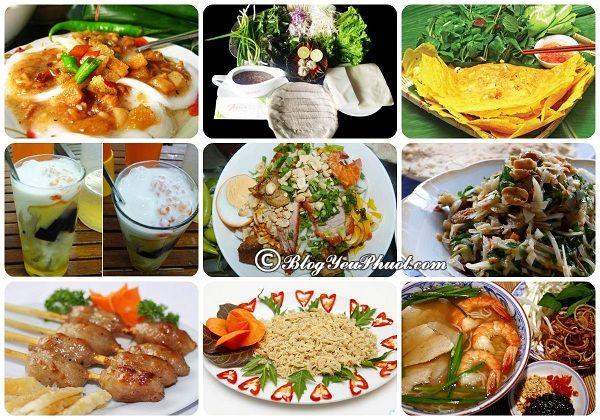 Kinh nghiệm du lịch rừng dừa nước Cẩm Thanh- Hội An- các món ăn đặc sản