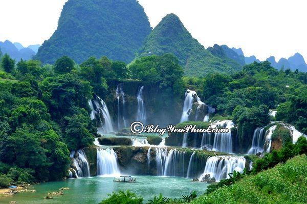 Kinh nghiệm du lịch Bản Giốc- Cao Bằng- Các địa danh thăm quan nổi tiếng