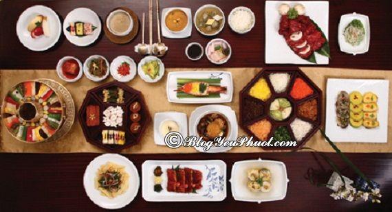 Ăn gì khi du lịch Triều Tiên?- Ẩm thực Triều Tiên