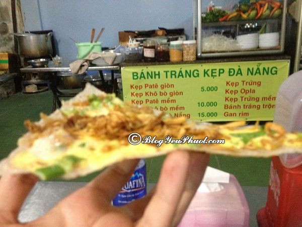 Những quán ăn vặt ngon rẻ tại Đà Nẵng