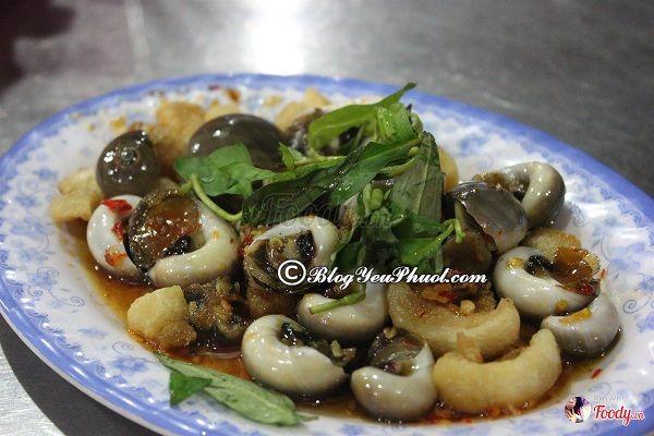 Ăn vặt món gì, ở đâu tại Đà Nẵng?