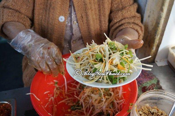 Những quán ăn vặt ngon tại Đà Nẵng