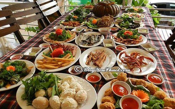 Các quán hải sản ngon rẻ tại Đà Nẵng