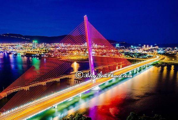 Nơi chụp ảnh đẹp ở Đà Nẵng về đêm: Địa điểm du lịch nổi tiếng ở Đà Nẵng