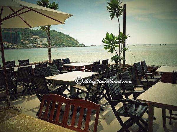 Các địa chỉ nhà hàng, quán ăn hải sản ngon, view đẹp ở Vũng Tàu