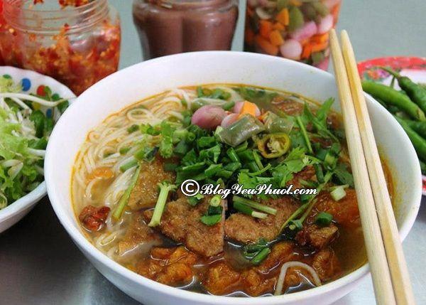 Ăn bún chả cá ở đâu ngon nhất Đà Nẵng