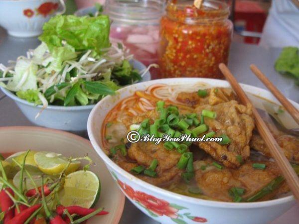 Địa chỉ bún chả cá ngon nhất Đà Nẵng