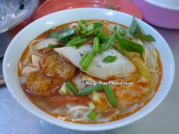 Top những quán bún chả cá ngon tại Đà Nẵng