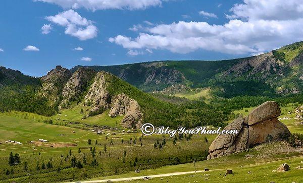 Tư vấn lịch trình vui chơi, tham quan khi đi du lịch Mông Cổ: Địa điểm du lịch nổi tiếng ở Mông Cổ
