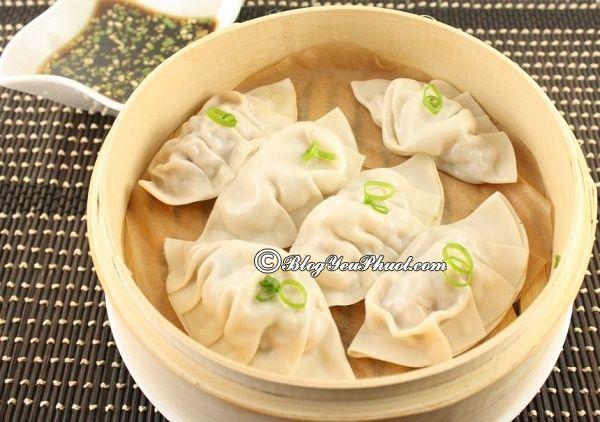 Sủi cảo - món ăn truyền thống Bắc Kinh