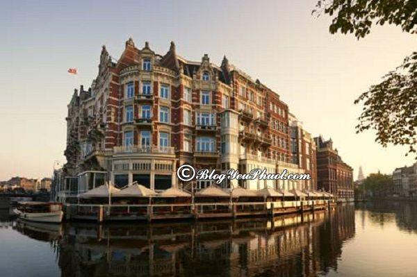 Ở đâu khi du lịch Amsterdam?-Khách sạn cao cấp, bình dân, giá rẻ ở Amsterdam