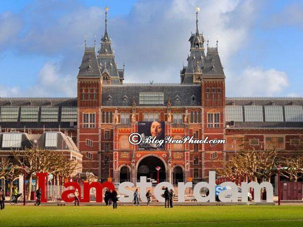 Đi đâu khi du lịch Amsterdam? - Viện bảo tàng nổi tiếng Rijksmuseum, địa điểm tham quan, du lịch độc đáo ở Amsterdam