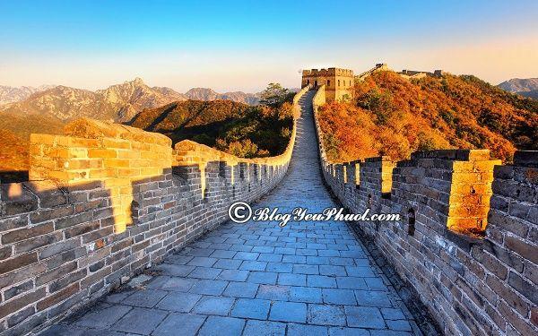 Nên đi du lịch Bắc Kinh vào mùa thu